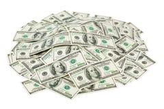 деньги вороха Стоковое Фото