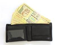 Деньги в бумажнике Стоковые Фотографии RF