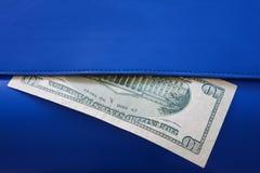 Деньги в бумажнике Стоковая Фотография RF