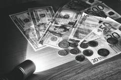 Деньги в световом луче электрододержатель при сварке дугой косвенного действия Стоковое Изображение