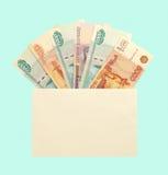 деньги габарита Стоковое Фото