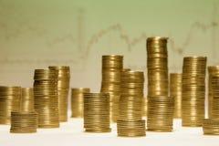 деньги города Стоковое фото RF