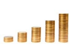 деньги диаграммы Стоковое Изображение RF