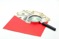 деньги доллара валюты наличных дег кредитки Стоковое фото RF
