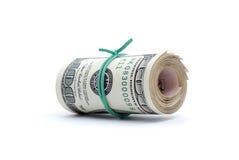 деньги долларов крупного плана предпосылки Стоковые Изображения RF