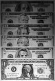 деньги долларов предпосылки мы Стоковые Изображения RF