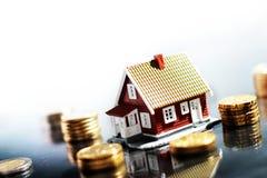деньги дома Стоковое фото RF