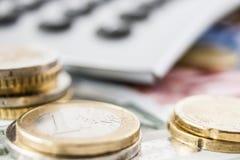 Деньги евро Стоковое фото RF