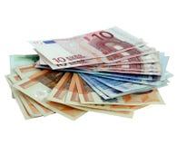 деньги евро Стоковая Фотография RF