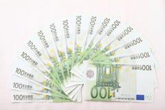 Деньги - евро Стоковое фото RF