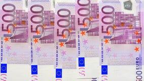 деньги евро 500 Стоковое Изображение RF