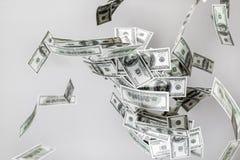 Деньги летают Стоковые Фотографии RF
