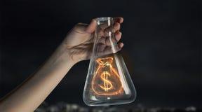 Деньги делая принципиальную схему стоковые фотографии rf