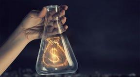Деньги делая принципиальную схему стоковые изображения