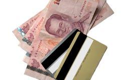 деньги задолженности Стоковая Фотография