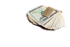 деньги зажима Стоковые Фотографии RF