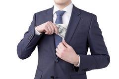 Деньги заработка Стоковые Изображения