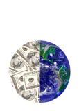 деньги земли Стоковые Фото