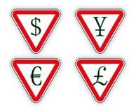 Деньги знака иллюстрация штока