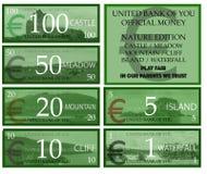 Деньги игры евро иллюстрация штока
