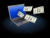 Деньги интернета бесплатная иллюстрация
