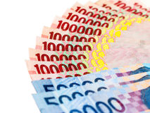 Деньги индонезийской рупии Стоковые Изображения