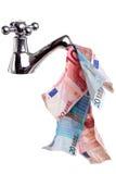 деньги исходящей наличности Стоковые Фотографии RF