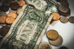 Деньги и концепция экономики стоковые фотографии rf
