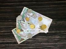 Деньги и пенни Стоковое Изображение RF