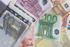 деньги ковра Стоковые Фотографии RF
