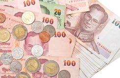 Деньги королевства Таиланда Стоковое Изображение RF