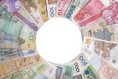 деньги круга Стоковое Изображение