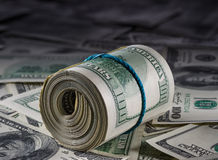 Деньги к американским долларам Стоковое Фото