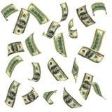 деньги летания Стоковые Изображения RF