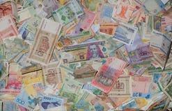 Деньги людей мира Стоковые Фотографии RF