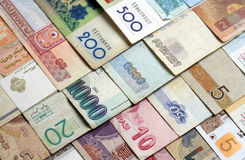 деньги макроса Стоковые Фото