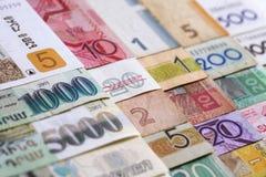 деньги макроса Стоковое фото RF