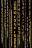 деньги матрицы Стоковая Фотография RF