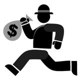 деньги мешка Стоковое фото RF