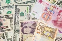 Деньги мира стоковое фото rf