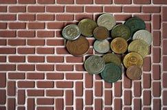 деньги монетки стоковая фотография rf