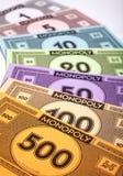 Деньги монополии Стоковые Изображения