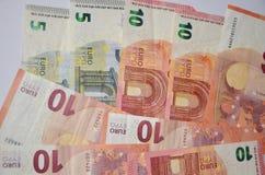 Деньги, наличные деньги, предпосылка валюты Стоковые Фото