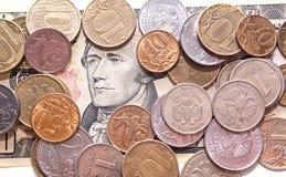 Деньги на долларе Стоковые Изображения RF