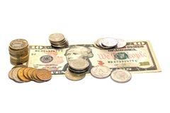 Деньги на долларе Стоковое Изображение
