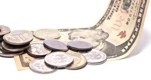 Деньги на долларе Стоковые Фотографии RF