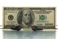 Деньги нот Стоковое Фото