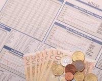 Деньги обменом Стоковое фото RF