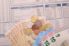 Деньги обменом Стоковая Фотография RF