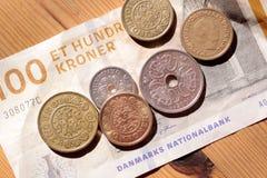 Деньги от Дании Стоковые Изображения RF